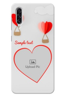 Galaxy A70 Phone Covers: Parachute Love Design