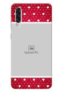 Galaxy A70 custom back covers: Hearts Mobile Case Design