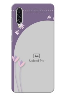 Galaxy A70 Phone covers for girls: lavender flowers design