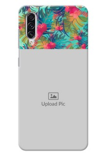 Galaxy A70 Personalized Phone Cases: Watercolor Floral Design