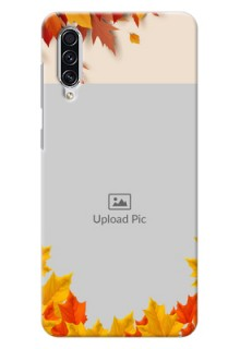 Galaxy A70 Mobile Phone Cases: Autumn Maple Leaves Design
