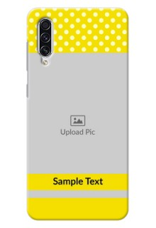 Galaxy A70s Custom Mobile Covers: Bright Yellow Case Design