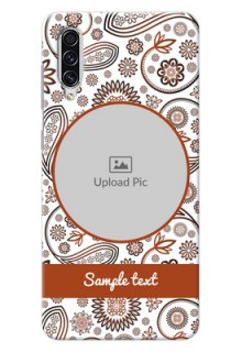 Galaxy A70s phone cases online: Abstract Floral Design