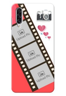 Galaxy A70s custom phone covers: 3 Image Holder with Film Reel