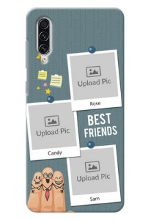 Galaxy A70s Mobile Cases: Sticky Frames and Friendship Design