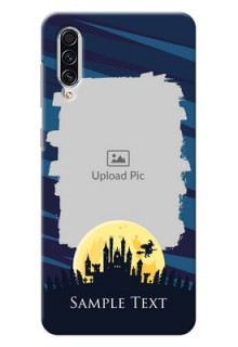 Galaxy A70s Back Covers: Halloween Witch Design