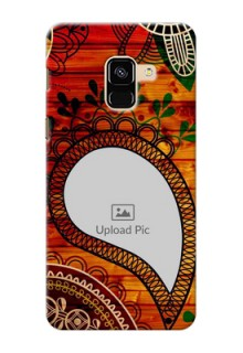 Galaxy A8 (2018) custom mobile cases: Abstract Colorful Design