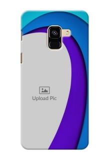 Galaxy A8 (2018) custom back covers: Simple Pattern Design
