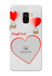 Galaxy A8 (2018) Phone Covers: Parachute Love Design
