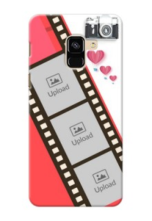 Galaxy A8 (2018) custom phone covers: 3 Image Holder with Film Reel