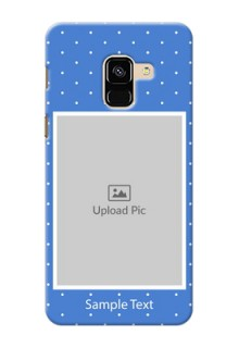 Galaxy A8 (2018) Personalised Phone Cases: polka dots design