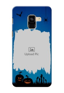 Galaxy A8 (2018) mobile cases online with pro Halloween design