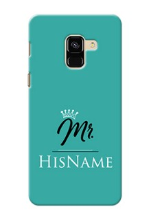 Galaxy A8 (2018) Custom Phone Case Mr with Name