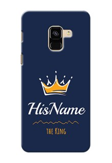 Galaxy A8 (2018) King Phone Case with Name