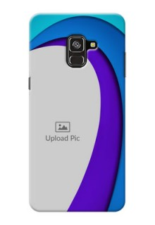 Galaxy A8 Plus 2018 custom back covers: Simple Pattern Design