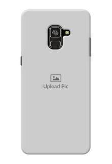 Galaxy A8 Plus 2018 Custom Mobile Cover: Upload Full Picture Design