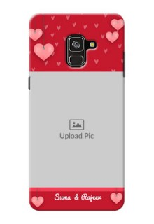Galaxy A8 Plus 2018 Mobile Back Covers: Valentines Day Design