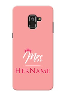 Galaxy A8 Plus 2018 Custom Phone Case Mrs with Name