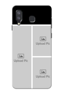 Samsung Galaxy A8 Star Custom Mobile Cover: Upload Multiple Picture Design