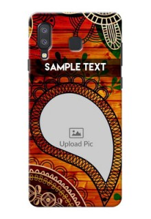 Samsung Galaxy A8 Star custom mobile cases: Abstract Colorful Design
