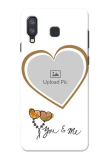Samsung Galaxy A8 Star customized phone cases: You & Me Design