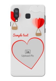 Samsung Galaxy A8 Star Phone Covers: Parachute Love Design