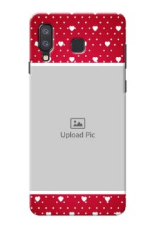 Samsung Galaxy A8 Star custom back covers: Hearts Mobile Case Design