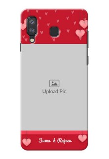 Samsung Galaxy A8 Star Mobile Back Covers: Valentines Day Design