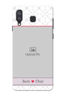 Samsung Galaxy A8 Star Phone Cases with Photo and Ethnic Design