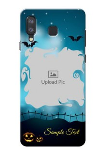 Samsung Galaxy A8 Star Personalised Phone Cases: Halloween frame design