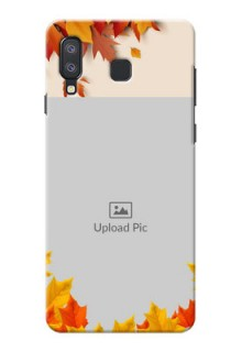 Samsung Galaxy A8 Star Mobile Phone Cases: Autumn Maple Leaves Design