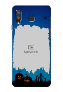 Samsung Galaxy A8 Star mobile cases online with pro Halloween design