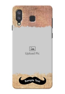 Samsung Galaxy A8 Star Mobile Back Covers Online with Texture Design