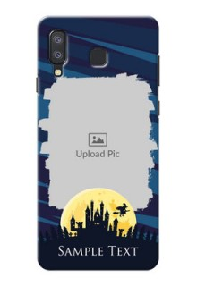 Samsung Galaxy A8 Star Back Covers: Halloween Witch Design