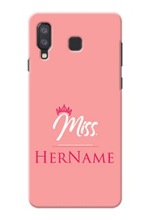 Galaxy A8 Star Custom Phone Case Mrs with Name
