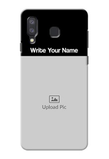Galaxy A8 Star Photo with Name on Phone Case
