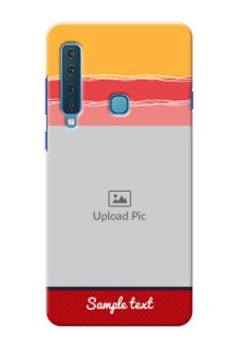 Samsung A9 2018 custom mobile phone covers: Colorful Case Design