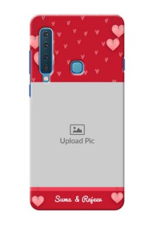 Samsung A9 2018 Mobile Back Covers: Valentines Day Design