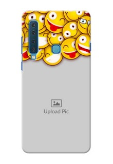 Samsung A9 2018 Custom Phone Cases with Smiley Emoji Design
