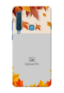 Samsung A9 2018 Mobile Phone Cases: Autumn Maple Leaves Design