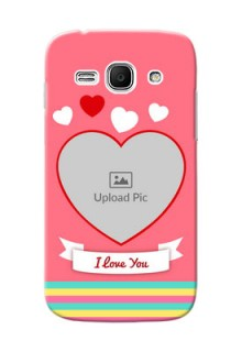 Samsung Galaxy Ace 3 I Love You Mobile Cover Design