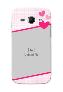 Samsung Galaxy Ace 3 Pink Design With Pattern Mobile Cover Design