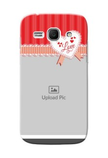 Samsung Galaxy Ace 3 Red Pattern Mobile Cover Design