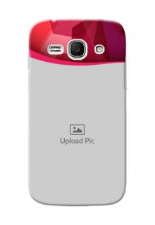 Samsung Galaxy Ace 3 Red Abstract Mobile Case Design