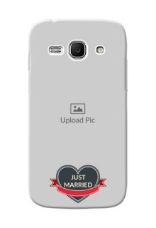 Samsung Galaxy Ace 3 Just Married Mobile Cover Design