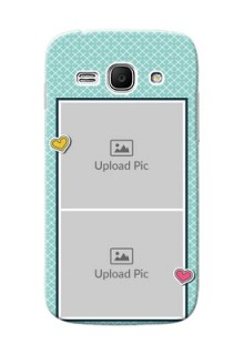 Samsung Galaxy Ace 3 2 image holder with pattern Design