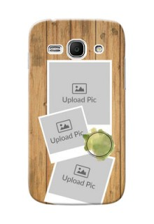 Samsung Galaxy Ace 3 3 image holder with wooden texture  Design