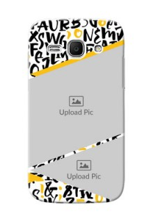 Samsung Galaxy Ace 3 2 image holder with letters pattern  Design