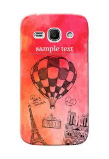 Samsung Galaxy Ace 3 abstract painting with paris theme Design