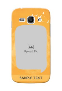 Samsung Galaxy Ace 3 watercolour design with bird icons and sample text Design Design